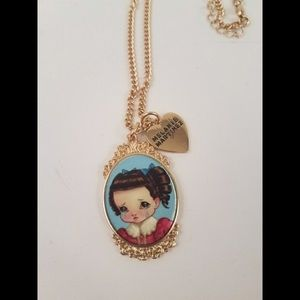 Melanie Martinez Portrait Necklace
